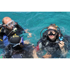diving in tiran for proffesional diver