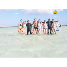 Ras Mohamed by boat & white island by boat